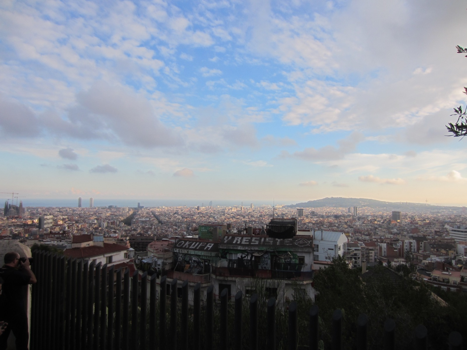 Der Blick vom Park Güell.