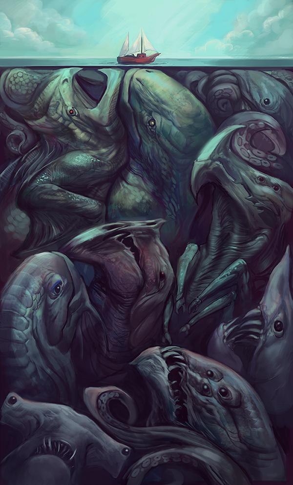 Unter Die Oberfläche Sehen