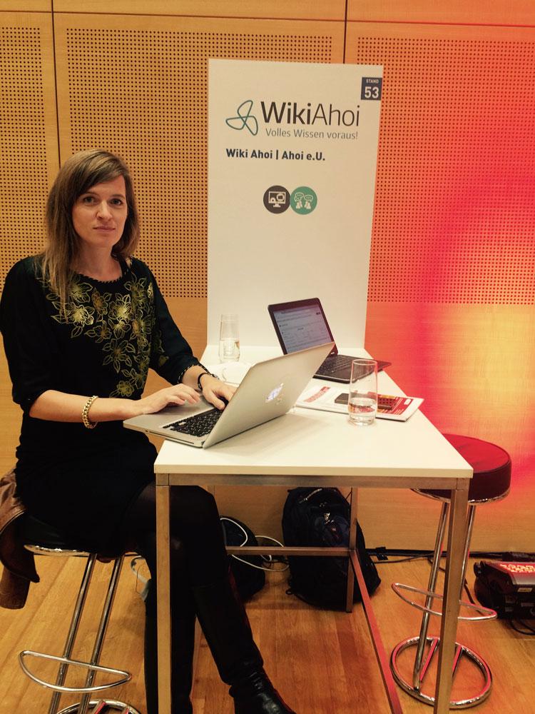 WikiAhoi auf der DSGVO Convention