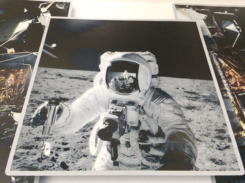 Moon selfie.